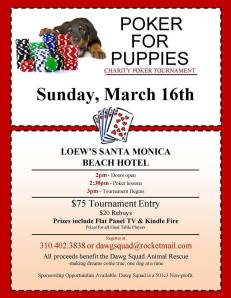 POKER FOR PUPPIES 2014